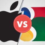 رقابت گوگل با اپل