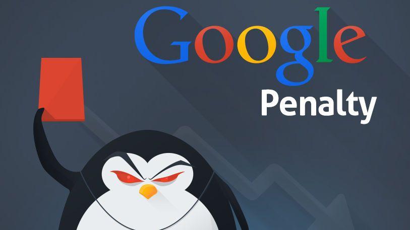 خروج از پنالتی گوگل